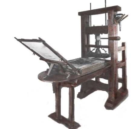 ramage press mid 1850s